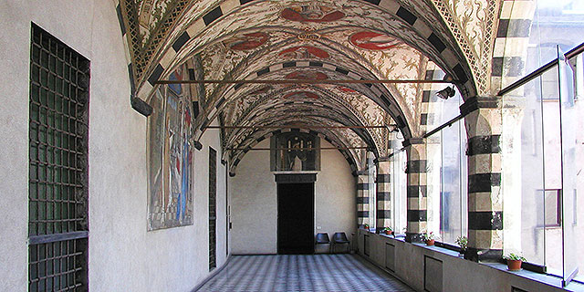 lower loggia